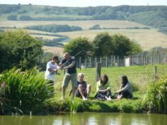 Nettlecombe Farm Self-Catering Holiday Cottages, Fishing Lakes